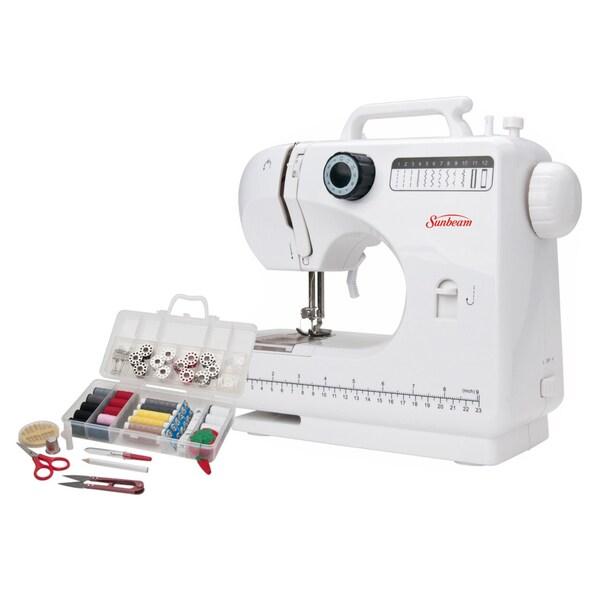 Sunbeam SB1818 Compact Sewing Machine and Sewing Kit