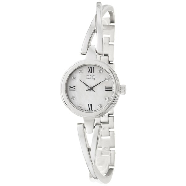 ESQ by Movado Women's 'Sienna' Stainless Steel Diamond Quartz Watch