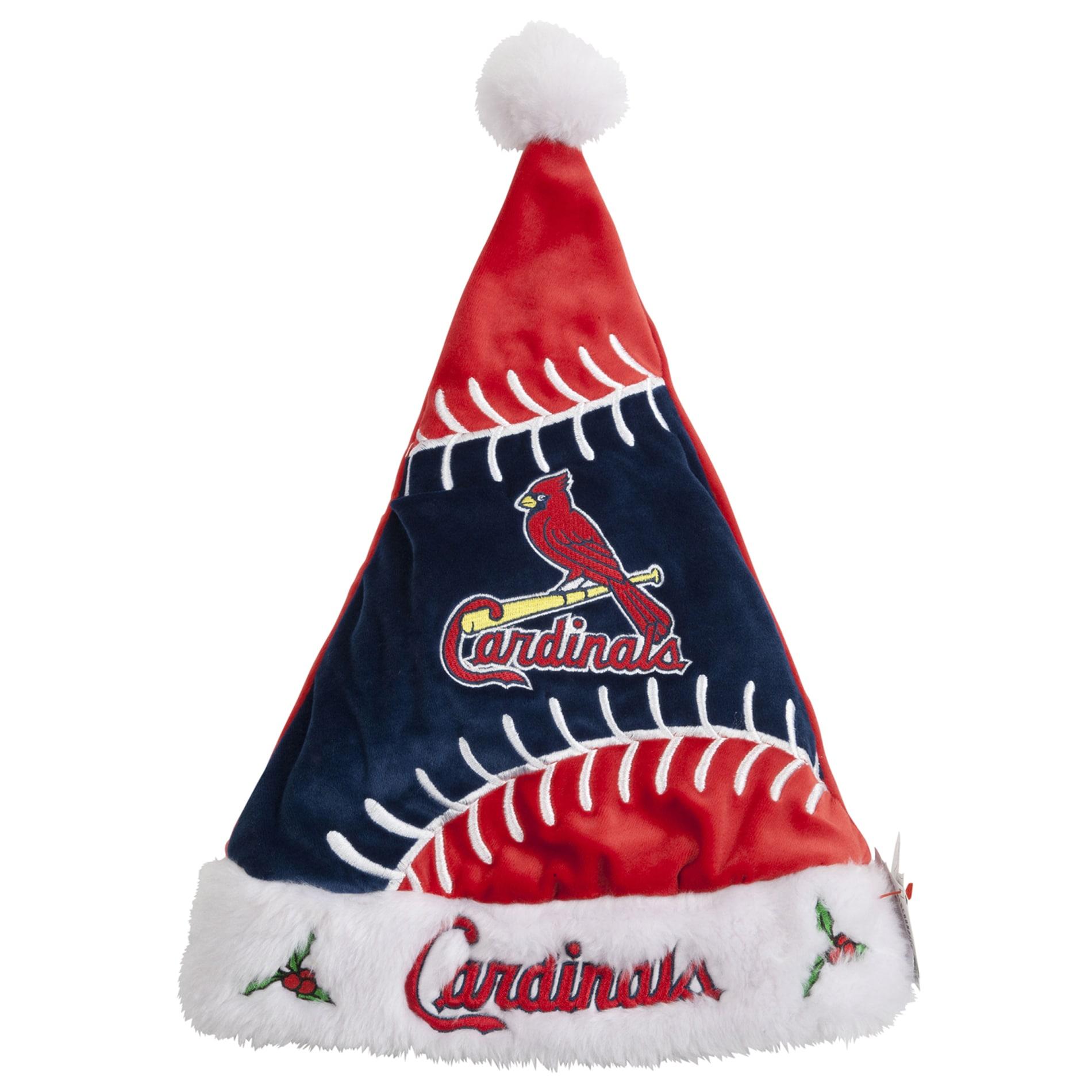 St. Louis Cardinals Colorblock Santa Hat