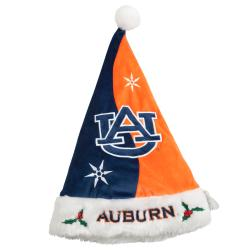Auburn Tigers Colorblock Santa Hat