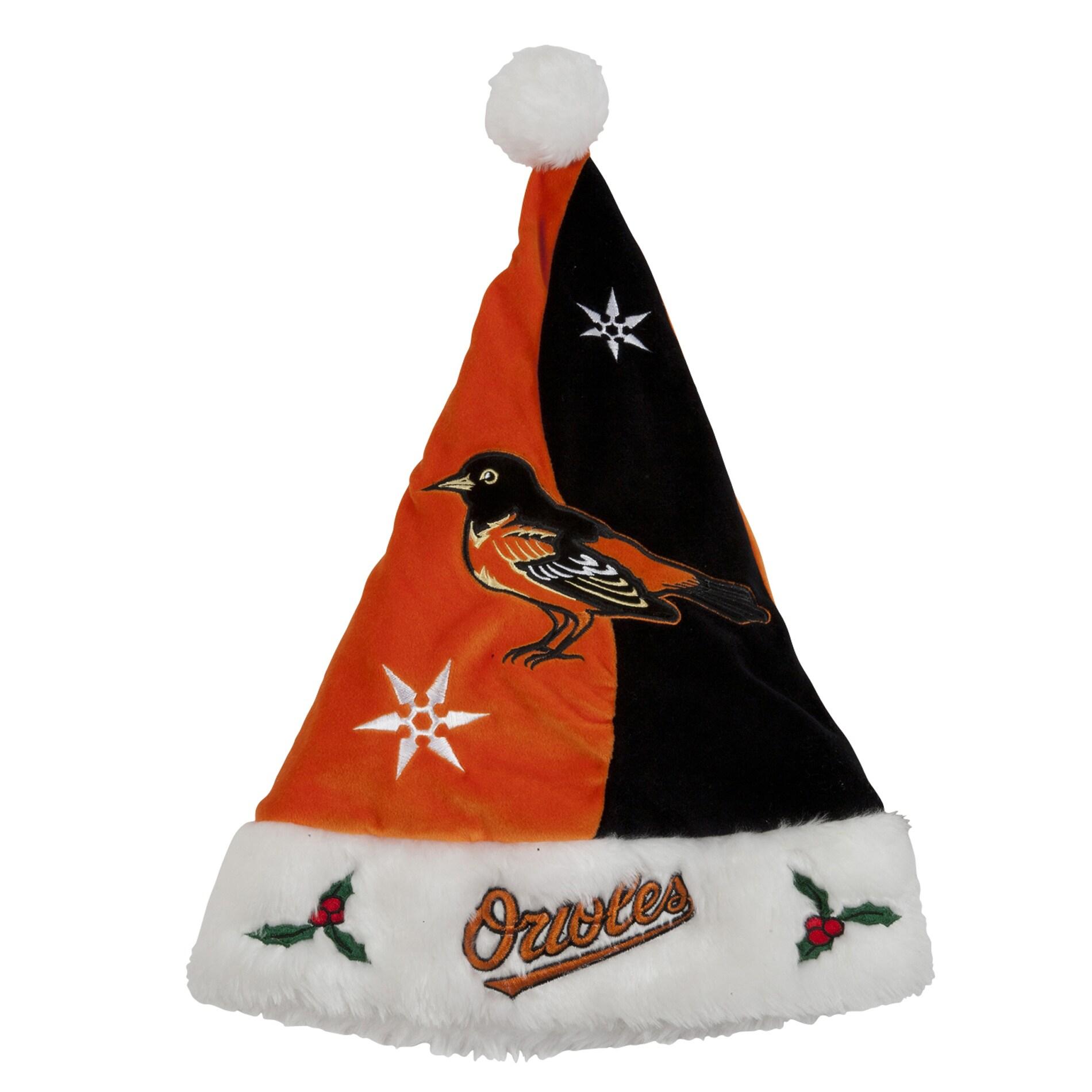Baltimore Orioles Colorblock Santa Hat