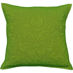 Cottage Home Damask Reversible Decorative Pillow