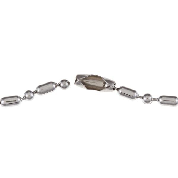 Stainless Steel 'Joker' Skull Razor Necklace