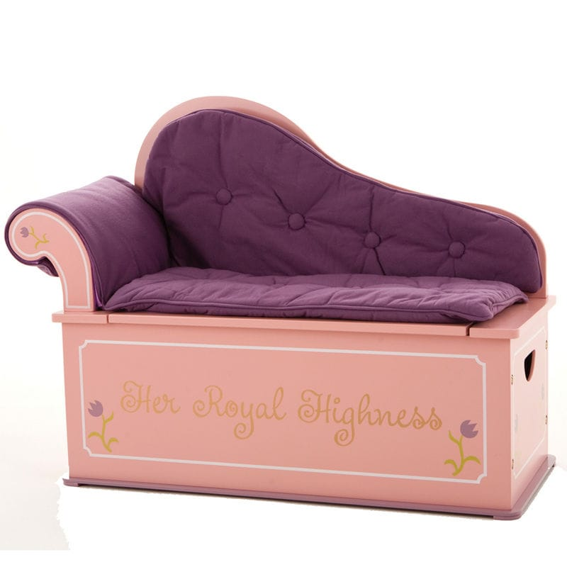 Princess Fainting Couch w/ Storage