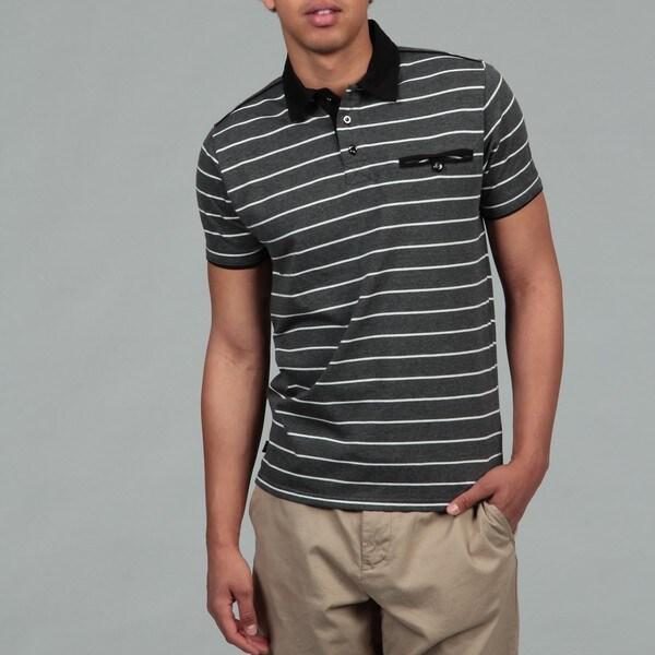 MO7 Men's Striped Polo Shirt
