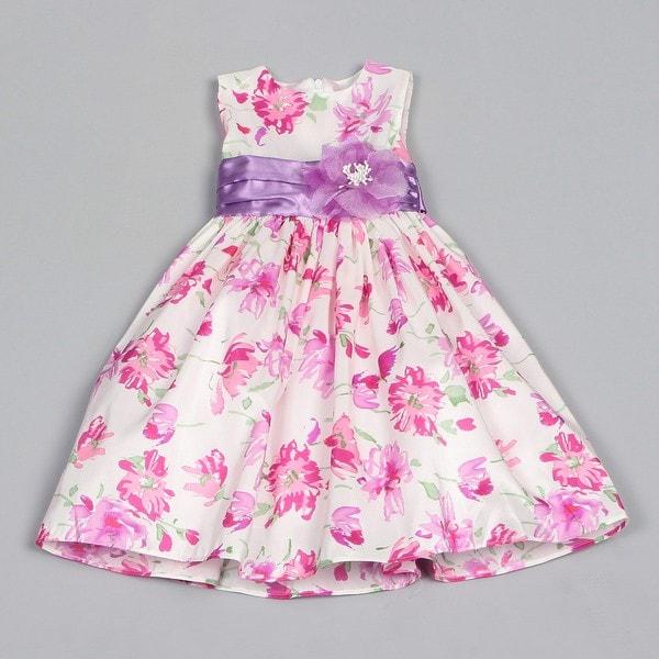Dorissa Toddler Girl's Iris Floral Print Dress