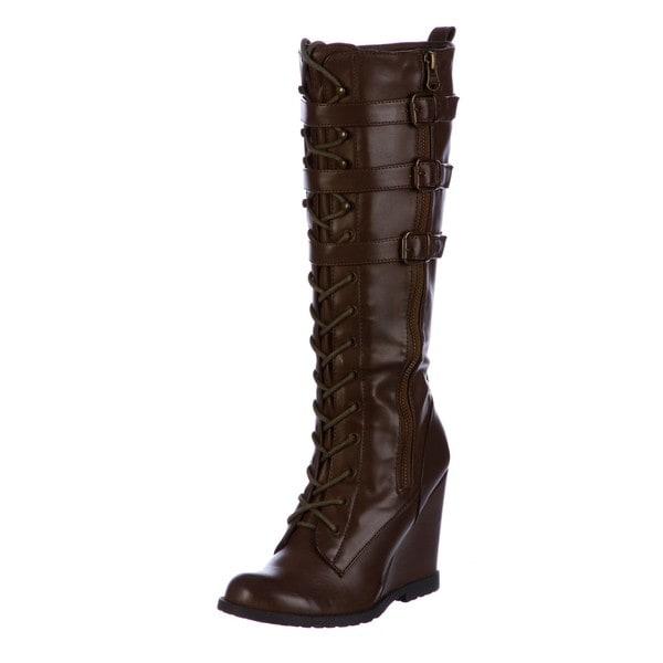 f9c8ac4d60f Shop MIA Women s  Ursela  Tall Boots FINAL SALE - Free Shipping On ...