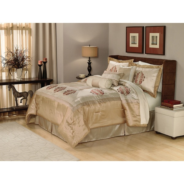Adira 7-piece Queen Comforter Set