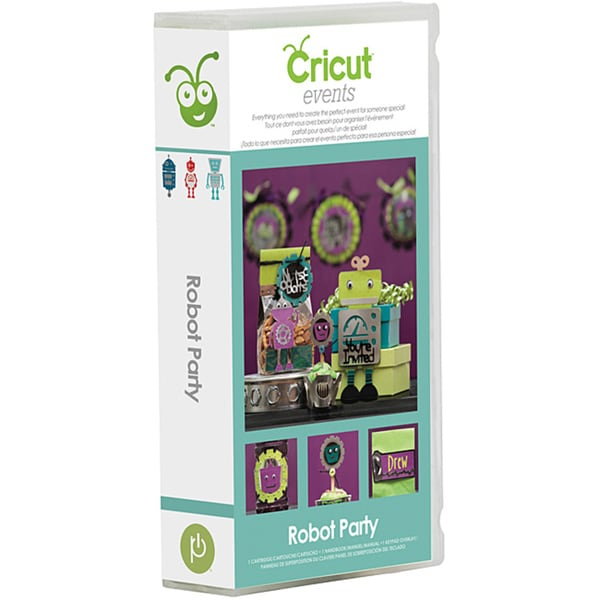 Cricut Robot Party Cartridge