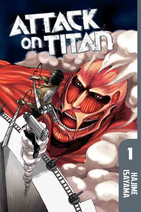 Attack on Titan 1 (Paperback) - Thumbnail 0