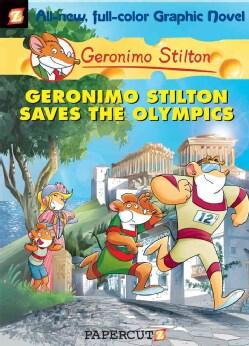 Geronimo Stilton 10: Geronimo Stilton Saves the Olympics (Hardcover)