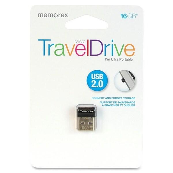 Memorex 16GB Micro TravelDrive USB 2.0 Flash Drive