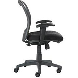 Nightingale LXO Mid-back Black Mystic Ergonomic Task Chair - Thumbnail 2