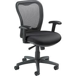 Nightingale LXO Mid-back Black Mystic Ergonomic Task Chair