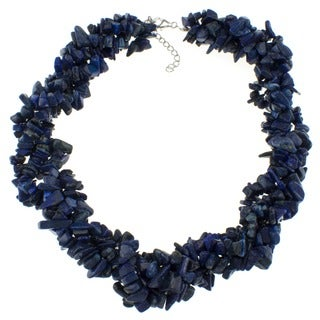 Pearlz Ocean Lapis Lazuli Chip Necklace