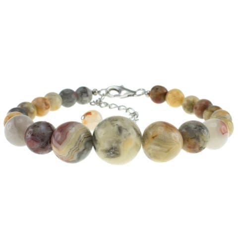 Ocean Jasper Round Journey Beads Bracelet