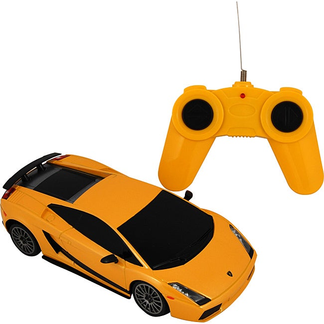 Premium Yellow Lamborghini Battery-operated Remote Control Car
