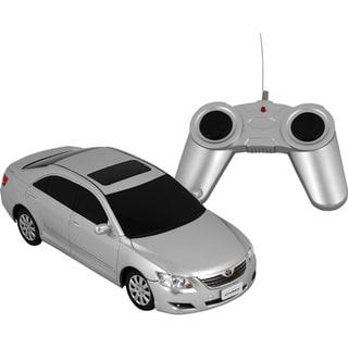 Premium Silver Toyota Camry Remote Control Car