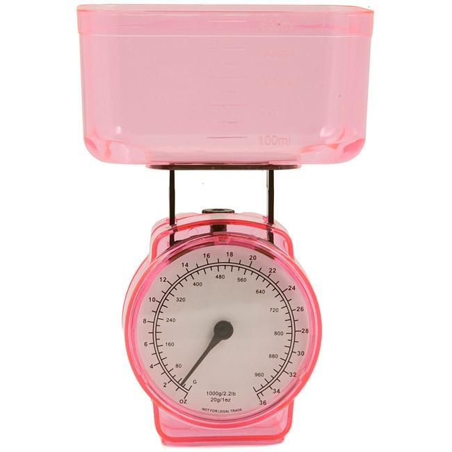 KitchenWorthy Pink Kitchen Scale