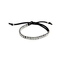 Sterling Silver 'Grains of Rice' Wrap Bracelet (Indonesia)