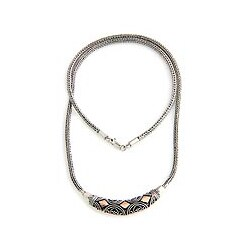 Sterling Silver 'Majapahit Princess' Necklace (Indonesia)