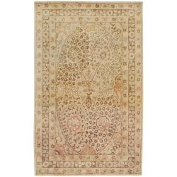 Hand-tufted Somerset New Zealand Wool Area Rug (5' x 8') - Thumbnail 0