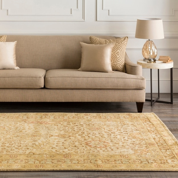 Hand-tufted Somerset New Zealand Wool Area Rug - 5' x 8'