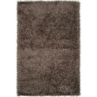 Hand-woven Shulaps Soft Shag Area Rug - 5' x 8'