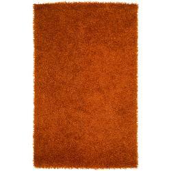 Hand-woven Seward Soft Shag Area Rug - 8' x 10' - Thumbnail 0