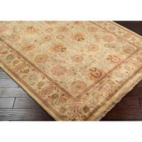 Hand Knotted Scoresby Semi-Worsted New Zealand Wool Area Rug - 3'6 x 5'6