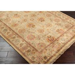 "Hand Knotted Scoresby Semi-Worsted New Zealand Wool Rug (9'6"" x 13'6"") - Thumbnail 1"