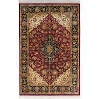 Hand Knotted Jacinto Semi-Worsted New Zealand Wool Area Rug (9'6 x 13'6)