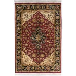 Hand Knotted Jacinto Semi Worsted New Zealand Wool Rug 9 6 X