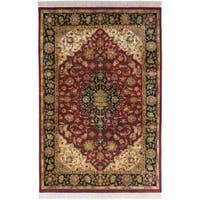 Hand Knotted Jacinto Semi-Worsted New Zealand Wool Area Rug (8'6 x 11'6)
