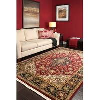 Hand Knotted Jacinto Semi-Worsted New Zealand Wool Area Rug (3'6 x 5'6)