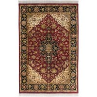 Hand Knotted Jacinto Semi-Worsted New Zealand Wool Area Rug - 3'6 x 5'6