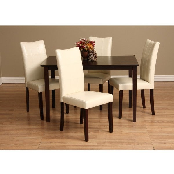 Delicieux Warehouse Of Tiffany Eveleen 5 Piece Dining Furniture Set