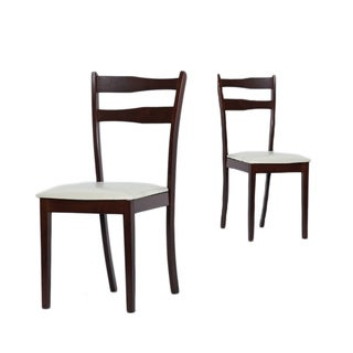 Warehouse of Tiffany Callan Cappuccino Dining Chairs (Set of Four)