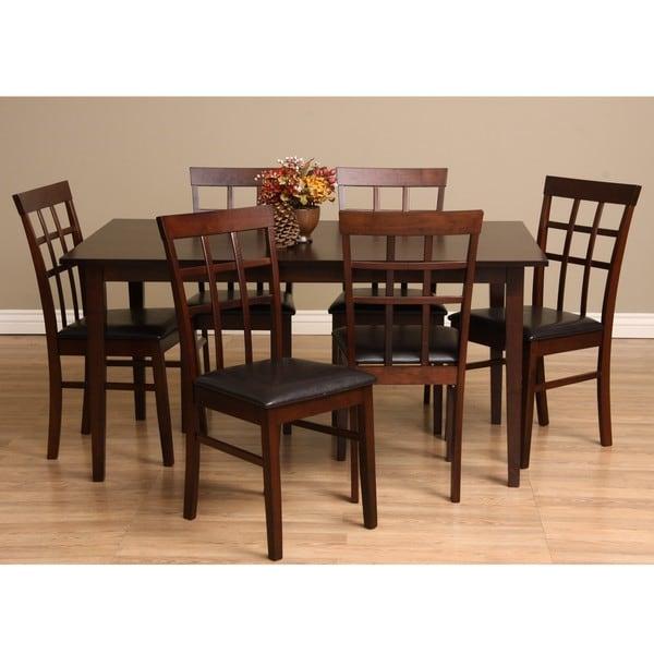 Warehouse of Tiffany Justin 7-piece Dining Furniture Set