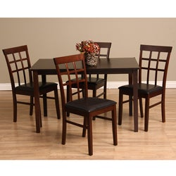 Warehouse of Tiffany Justin 5-piece Dining Furniture Set