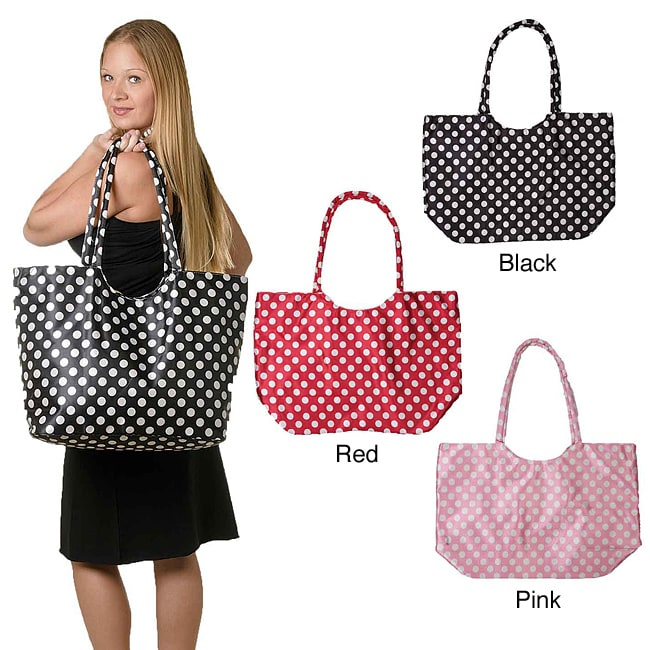 Heavy Vinyl Oversized Tote Bag with Zipper (China)