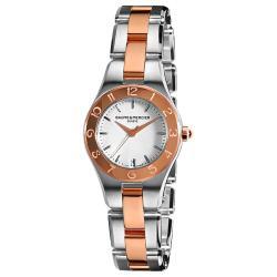 Baume & Mercier Women's 'Linea' Two-Tone Stainless-Steel Watch