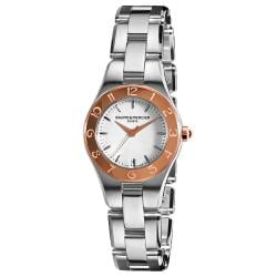Baume & Mercier Women's 'Linea' Two Tone Watch
