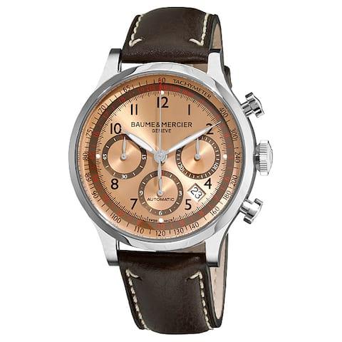 Baume & Mercier Men's 'Capeland' Automatic Chronograph Watch