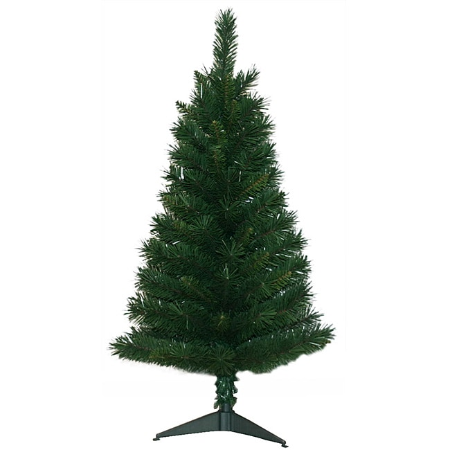 3 Foot Pre Lit Artificial Christmas Tree