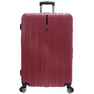 Traveler's Choice Tasmania 29-inch Expandable Hardside Spinner Upright Suitcase