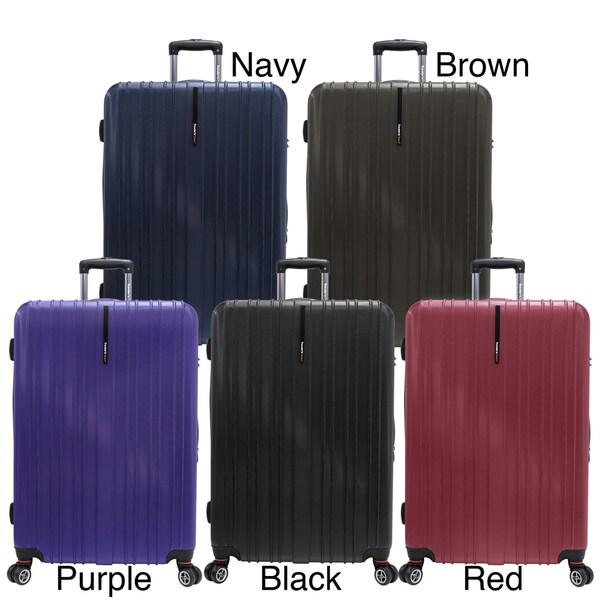 Traveler's Choice Tasmania 29-inch Expandable Hardside Spinner Upright Suitcase
