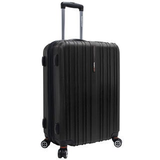 Traveler's Choice Tasmania 25-inch Expandable Hardside Spinner Upright Suitcase
