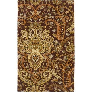 Hand Tufted Padua  Semi-Worsted New Zealand Wool Rug ( 5' x 8' )