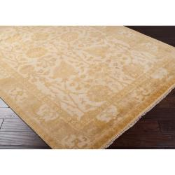 """Hand Knotted Cesena  Semi-Worsted New Zealand Wool Rug ( 5'6"""" x 8'6"""" ) - Thumbnail 1"""